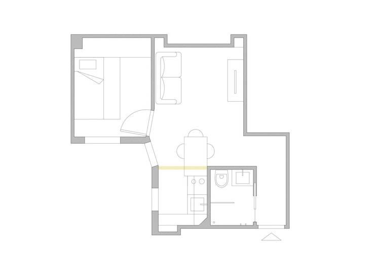 Appartamento a Parigi:  in stile  di smellof.DESIGN