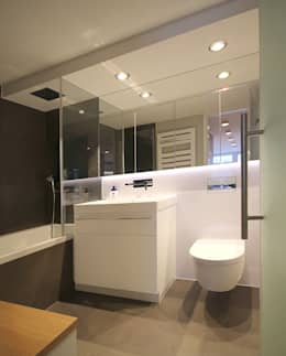 8 clevere gestaltungsideen f r kleine badezimmer - Spiegelschrank kleines bad ...