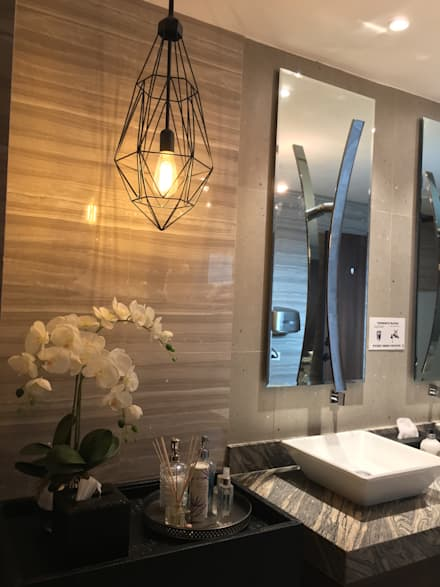 2015 PROJECTS: modern Bathroom by MKC DESIGN