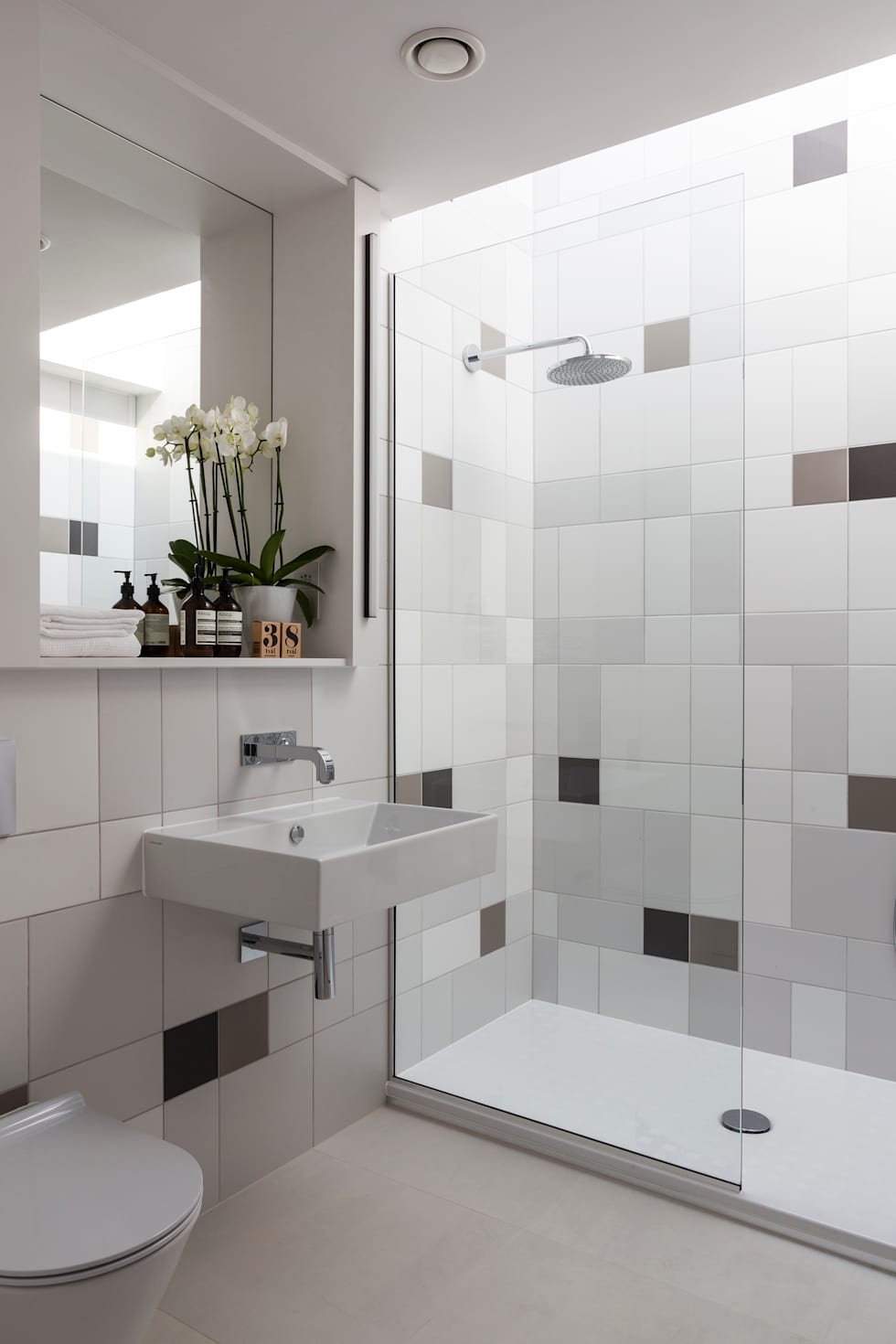 bathroom modern bathroom by studio mark ruthven