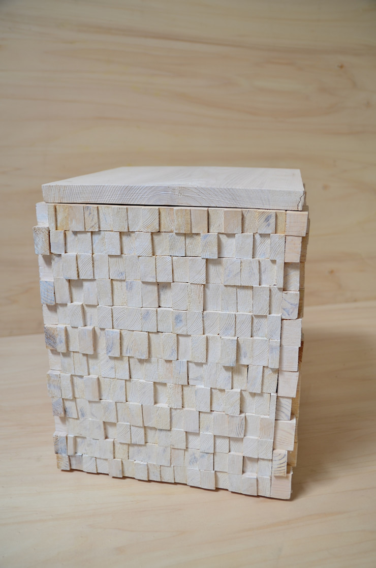 Ż Pracownia Living roomSide tables & trays Wood White