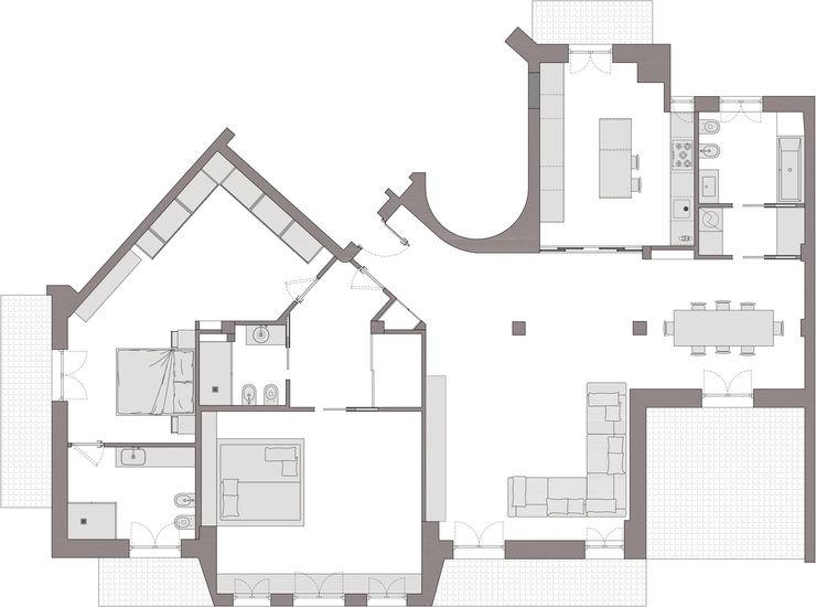 Planimetria Studio Zay Architecture & Design