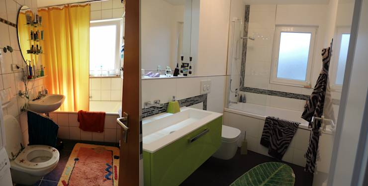 Before and after 10 amazing bathroom renovation projects for Renovation projects before and after