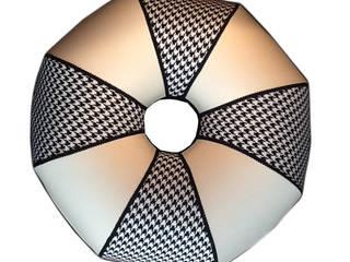 Création d'abat-jour et lampes sur mesure J-Lumine Salle à mangerAccessoires & décorations Coton Noir