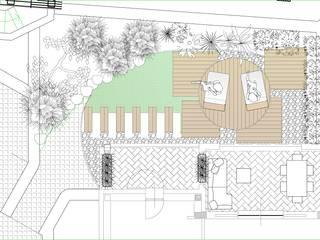 Architetto Alessandro spano Mediterranean style garden
