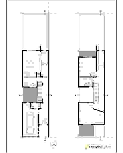 Nhà kính phong cách hiện đại bởi Patricio Galland Arquitectura Hiện đại