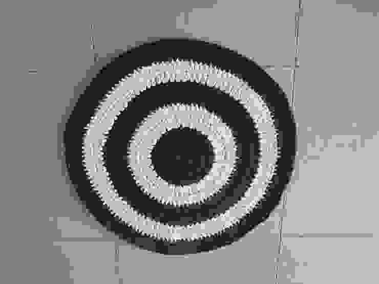 Tapis Au Crochet En Trapilho Style Méditerranéen Moderne