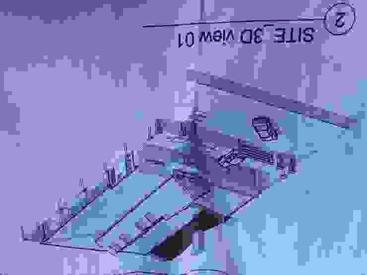 от JBK Architectural designs Модерн Кирпичи