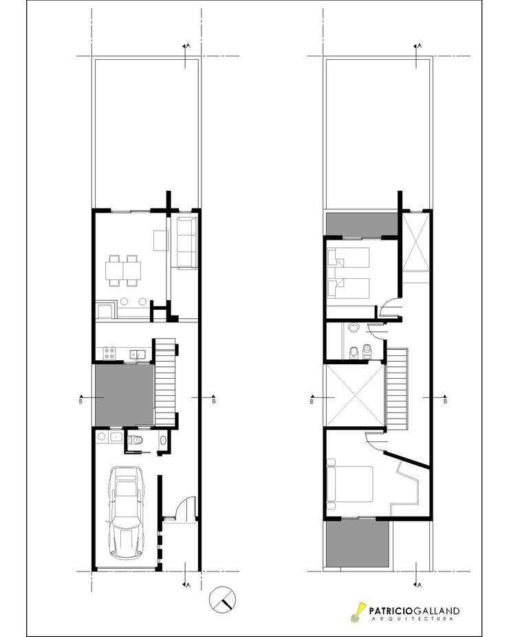 Casa Butteri: Anexos de estilo  por Patricio Galland Arquitectura