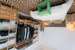 Camera da letto in stile in stile Scandinavo di J