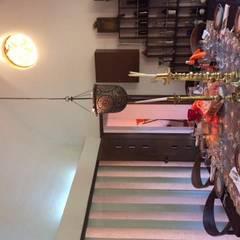 CASA DE CAMPO, H. ZITACUARO, MICHOACAN: Comedores de estilo rústico por ECLIPSE ARQUITECTOS SA de cv