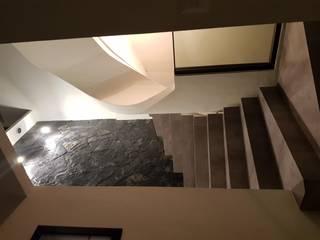 ESCALERAS PRINCIPALES: Escaleras de estilo  por Minimal architecture