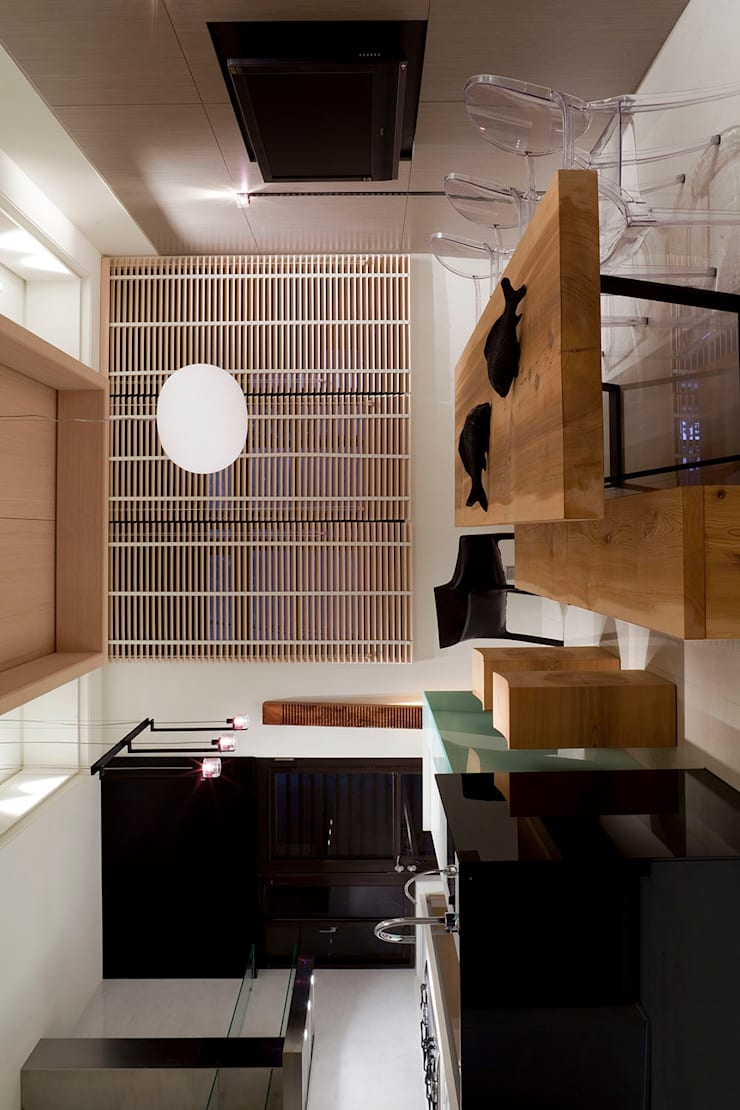 Case moderne di 四一室內裝修有限公司 Moderno