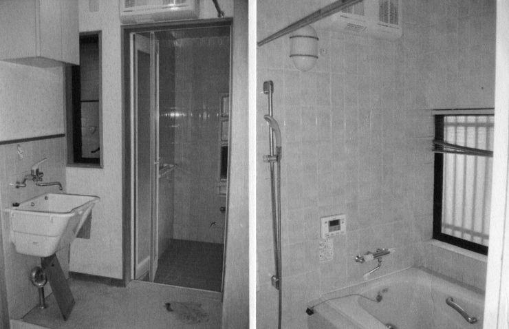 環アソシエイツ・高岸設計室 Asian style bathroom