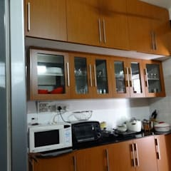 modular kitchen design : classic Kitchen by aashita modular kitchen