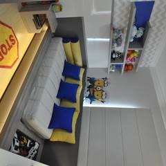 غرفة نوم أولاد تنفيذ Juliana Agner Arquitetura e Interiores , حداثي