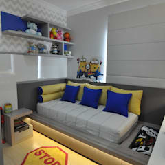 Boys Bedroom توسطJuliana Agner Arquitetura e Interiores, مدرن