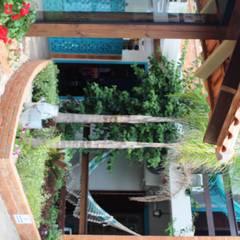 Pousada na Praia: Hotéis  por Escritorio de Arquitetura Karina Garcia