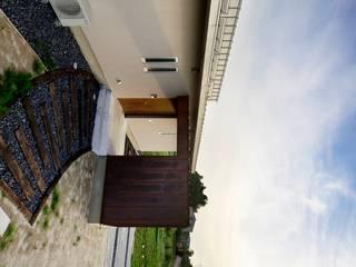 House in Godai 久保田章敬建築研究所 Modern Houses