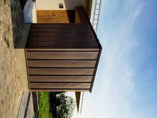 House in Godai 久保田章敬建築研究所 Modern Houses Copper/Bronze/Brass