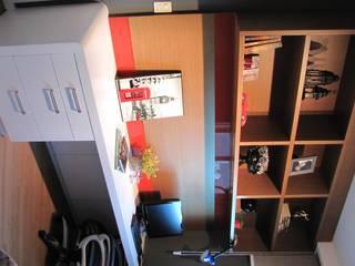 Quarto masculino Quartos modernos por PANORAMA Arquitetura & Interiores Moderno