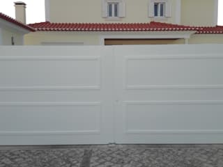 Bordalo Portas e Automatismos Inside doors Metal White