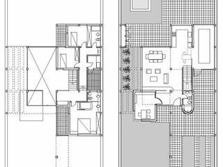 Vivienda Marcela y Horacio.: Casas de estilo moderno por Andrés Moroni  Arquitecto