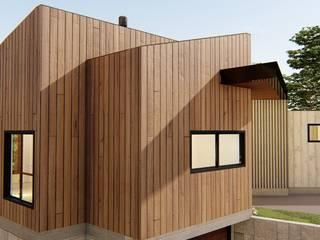 Casa Em Light Steel Frame - Casa C+V por Daniela Manosso Bampi - Arquitetura Inteligente Moderno
