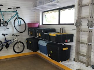 Garage Storage Solutions Industrial style garage/shed by MyGarage Industrial