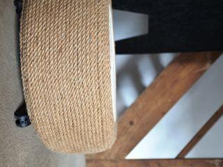Ż Pracownia Living roomStools & chairs Cây gai / đay Grey