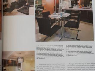 Apartemen Waterplace tower C Kottagaris interior design consultant Ruang Keluarga Modern