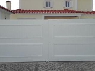 Bordalo Portas e Automatismos Внутрішні двері Метал Білий