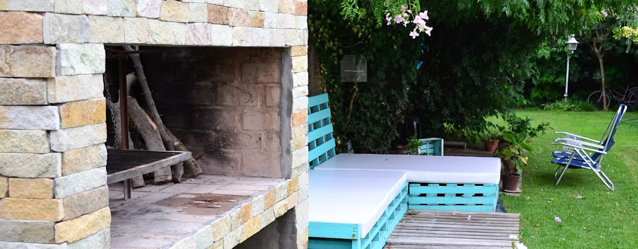 Jardines de estilo  por epb arquitectura