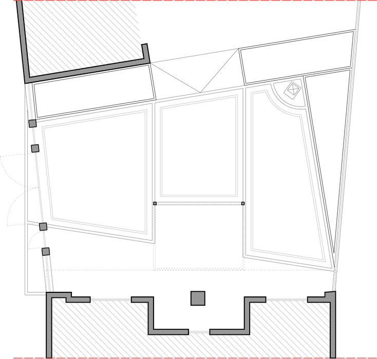 Planimetria generale: Case in stile in stile Rustico di TRIIIO