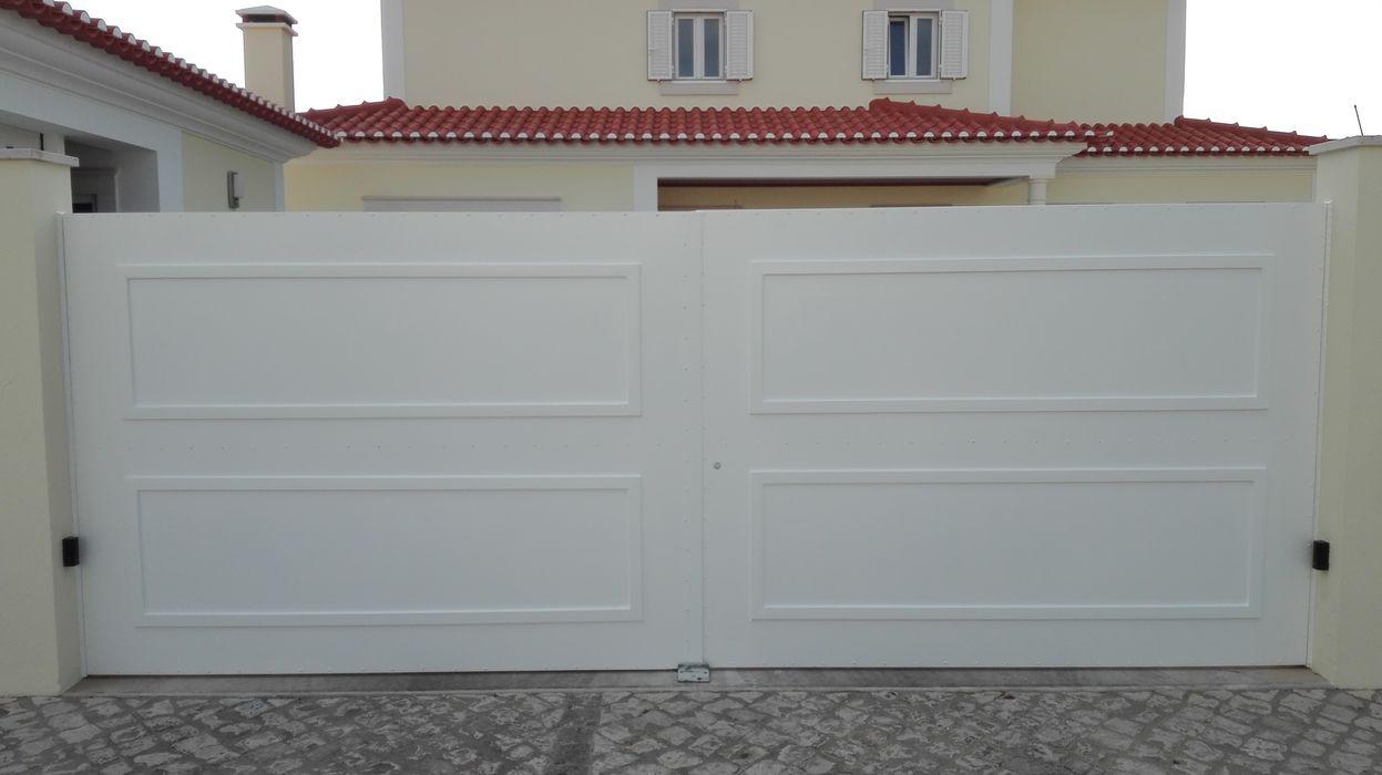 Bordalo Portas e Automatismos İç kapılar Metal Beyaz