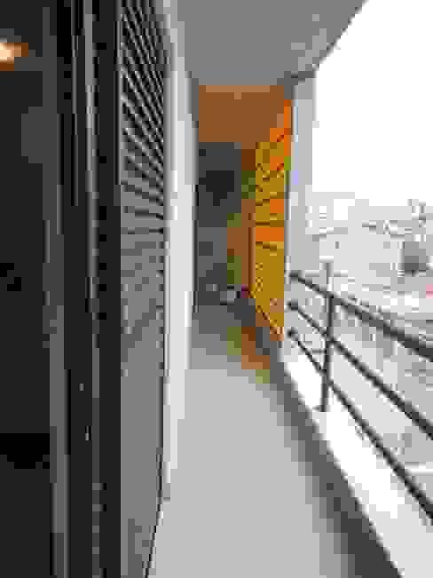 Varanda Varandas, alpendres e terraços rústicos por Metamorfose Arquitetura e Urbanismo Rústico