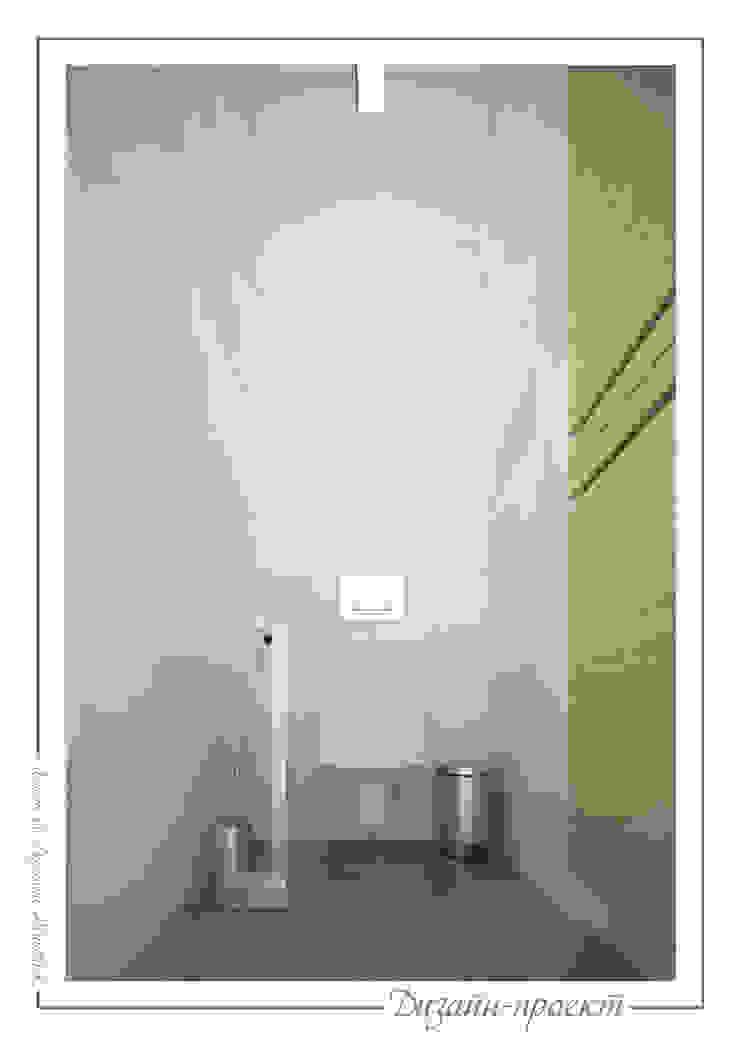 Sweet home Ванная комната в стиле минимализм от mlynchyk interiors Минимализм