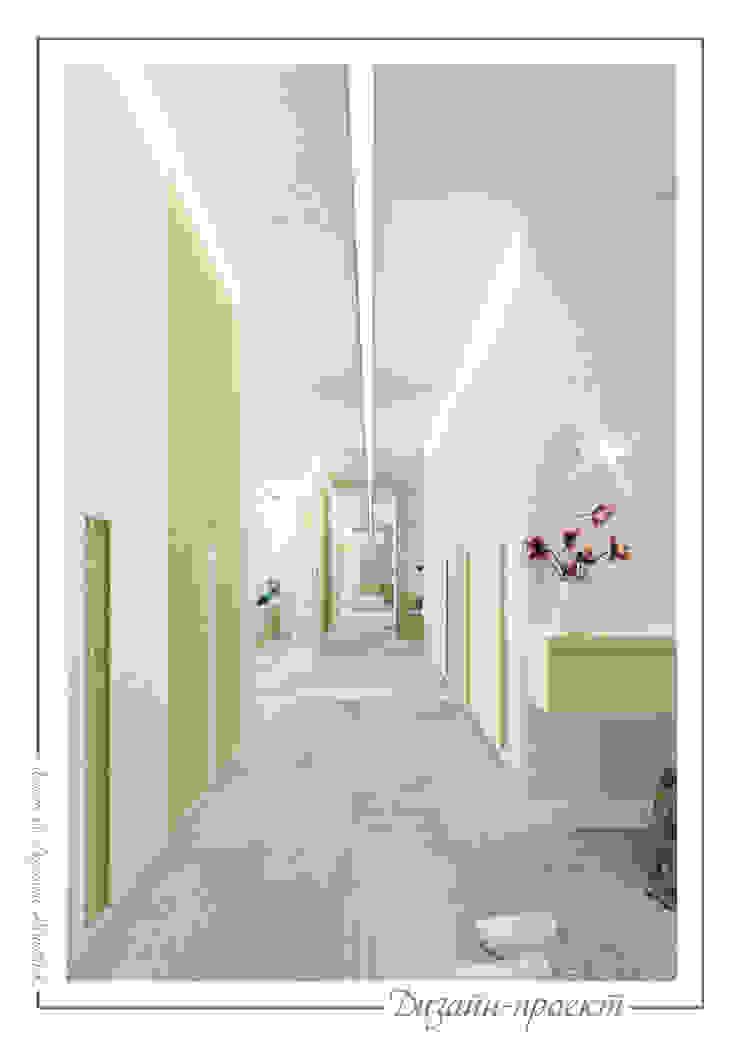 Sweet home Коридор, прихожая и лестница в стиле минимализм от mlynchyk interiors Минимализм