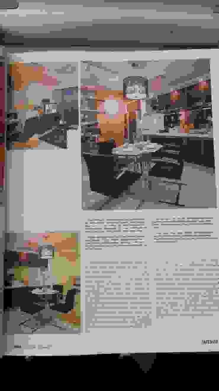 Living and dining area Ruang Keluarga Modern Oleh Kottagaris interior design consultant Modern