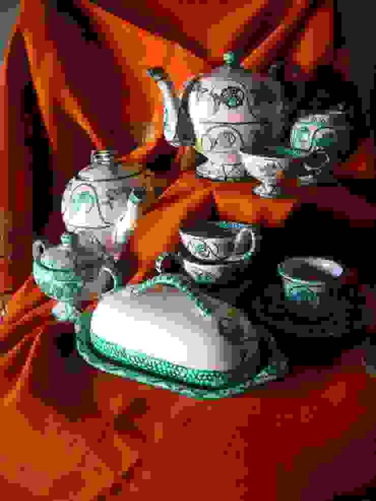 Tea Service de ARTE DELL'ABITARE Mediterráneo Cerámico