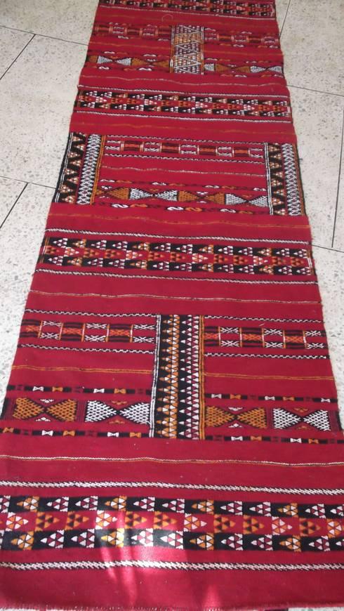 berber moroccan flat weave :  Corridor, hallway & stairs  by Africancreates