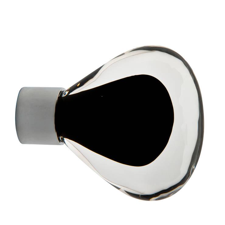 Bouton de meuble Vénus noir: Maison de style  par Les  Verreries de Bréhat