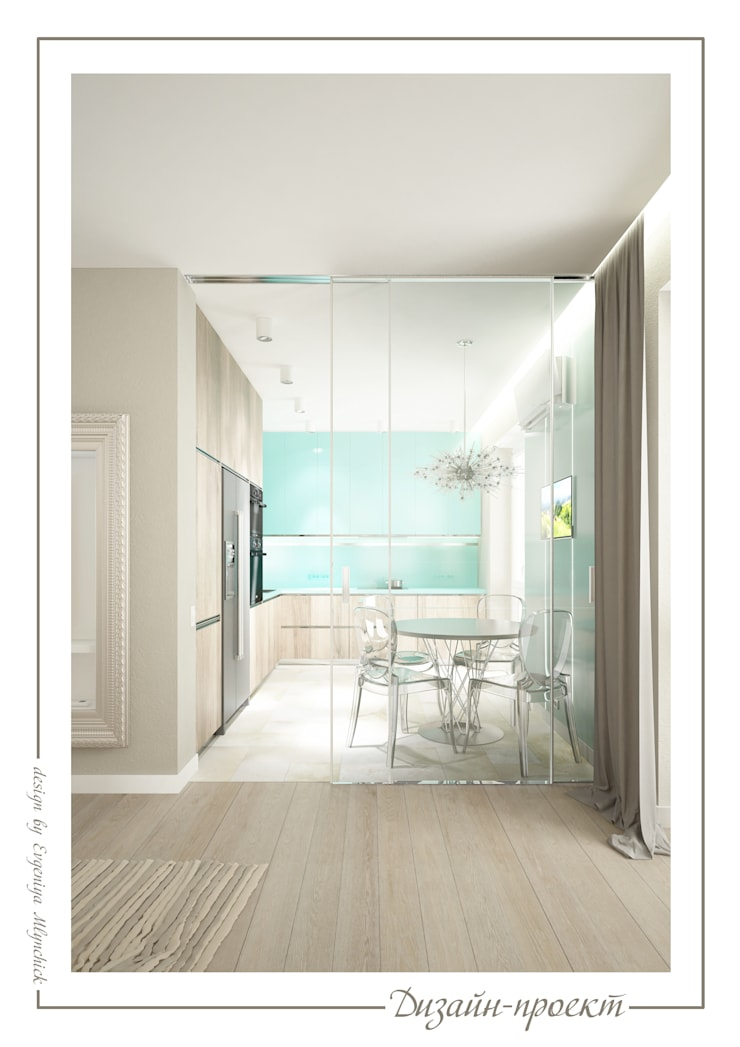 Мегаполис: Кухни в . Автор – mlynchyk interiors ,