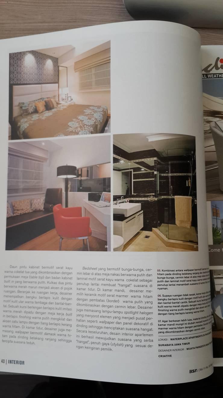 Master bedroom, playroom, bathroom:  Kamar Tidur by Kottagaris interior design consultant