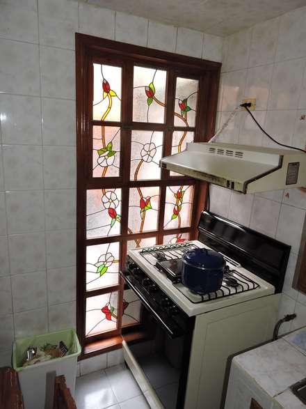 Fenster von La Casa del Diseño