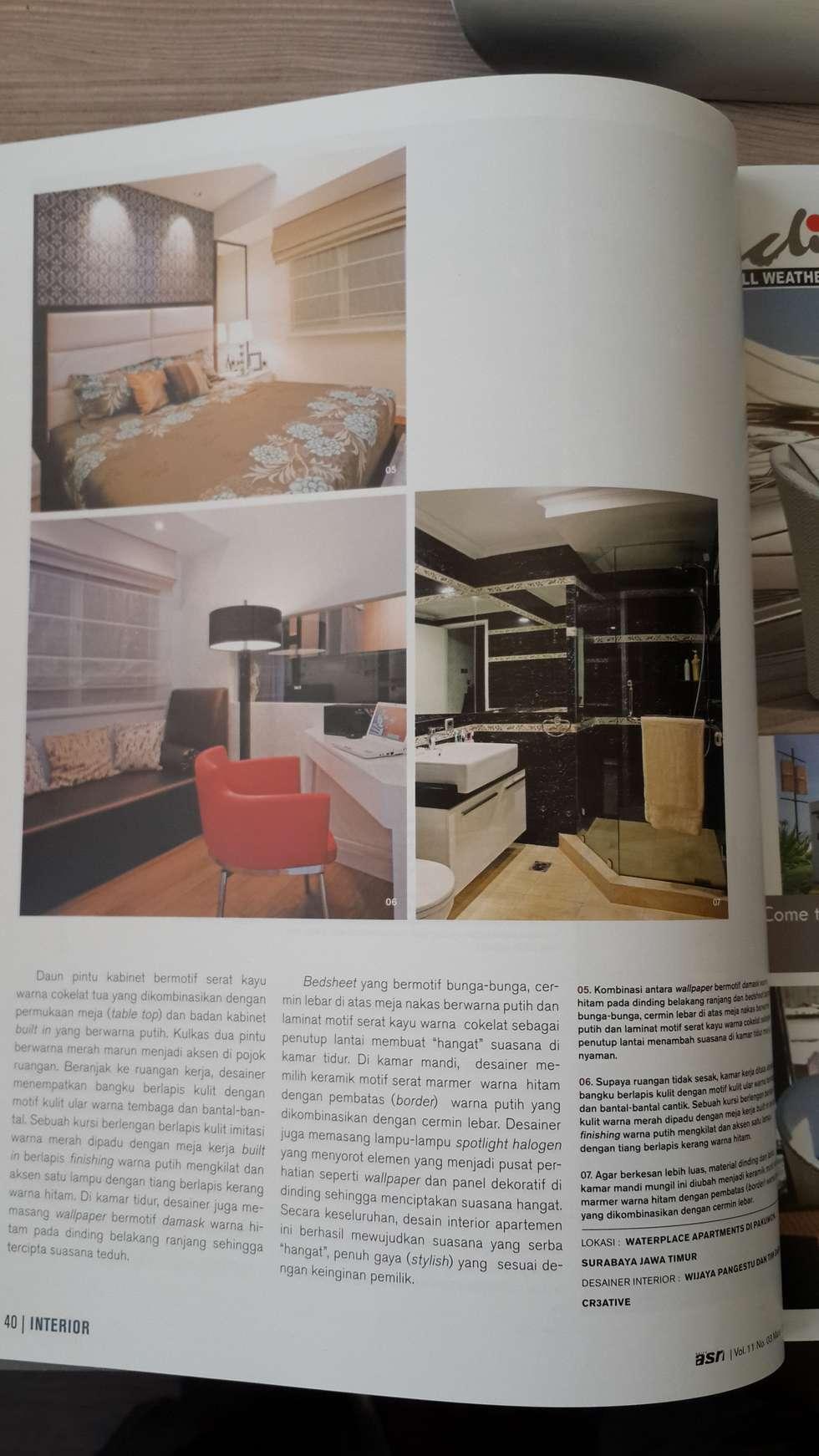 Modern bedroom by kottagaris interior design consultant