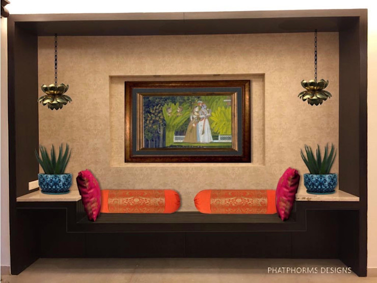 The Art wall with lounge Phat Phorms Designs