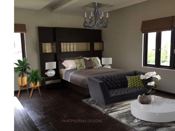 Master suites Phat Phorms Designs