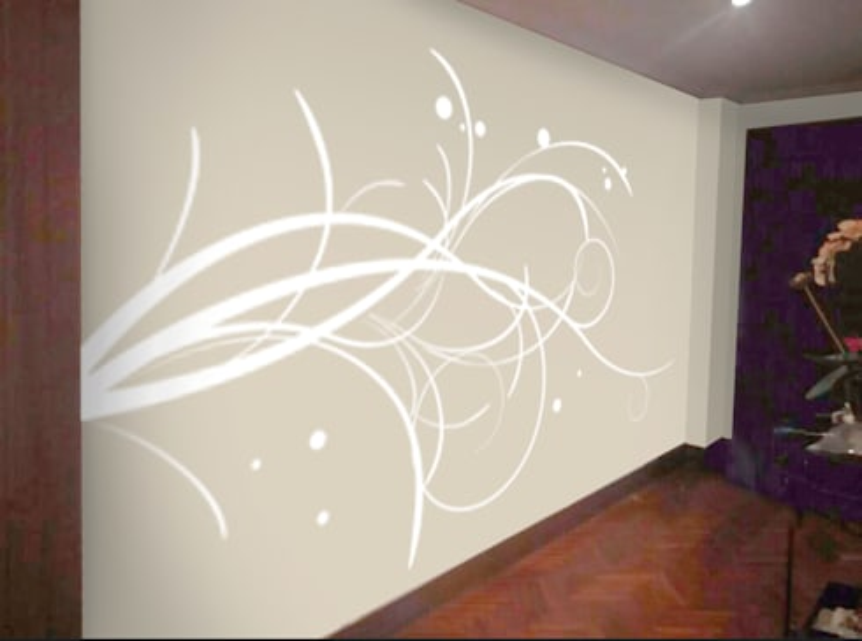Vinilo decorativo personalizado para pasillo de Desearte homify