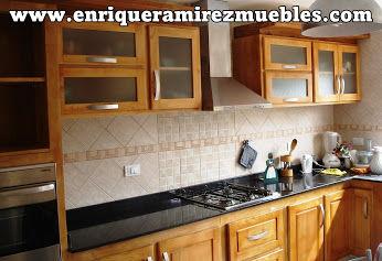 Muebles de cocina artesanales de Enrique Ramirez Muebles artesanales
